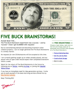 5-dollar-brainstorm